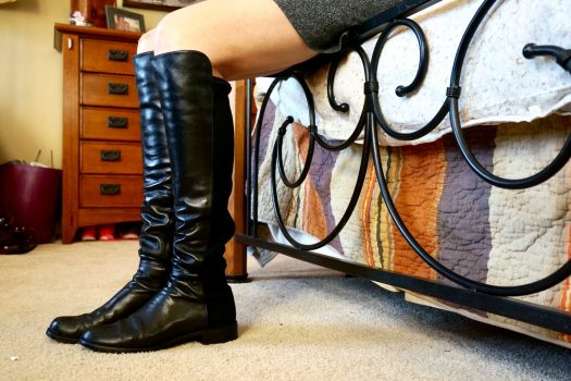 Rainy Day OTK Boots by Stuart Weitzman