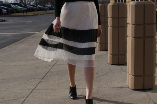 Real versus Deal (Pleated Skirt)