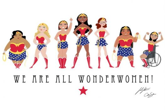 To the Wonder Women in my Life