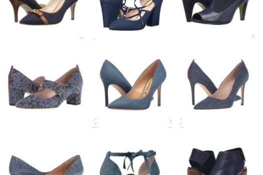 Spring Shoes Blues (Blue-Hued and Denim)