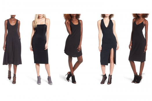 4 Ways to Style a LBD (Little Black Dress)
