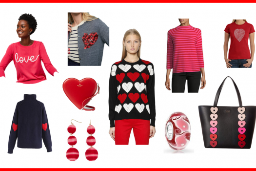 Looks to put a little more LOVE (or RED) in your life (Valentine's Day Picks)