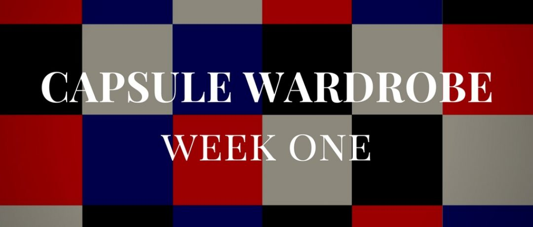 Winter Capsule Wardrobe Week 1 – My Outfits