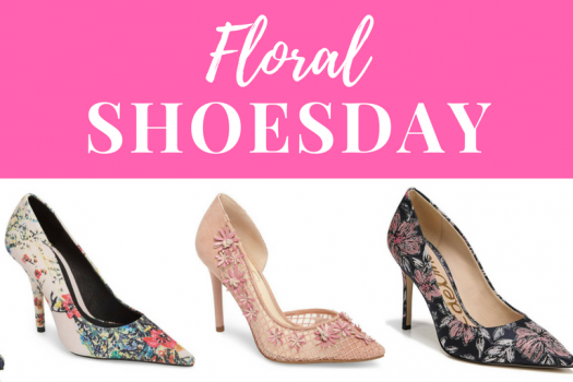 Floral Shoesday