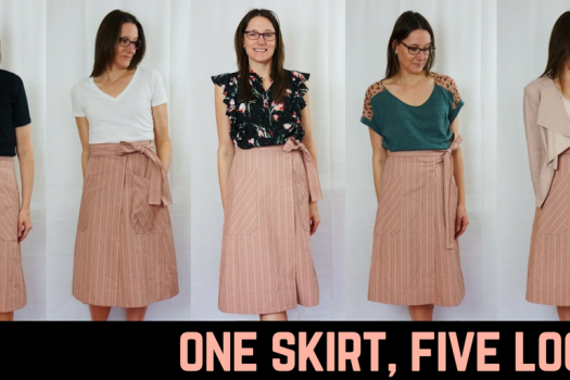 One Skirt, Five Looks