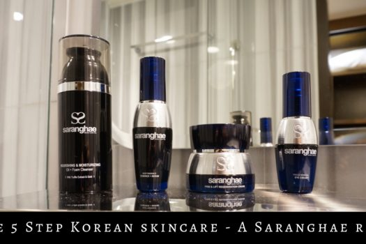 Skin Care Love … Literally (a Saranghae Review)