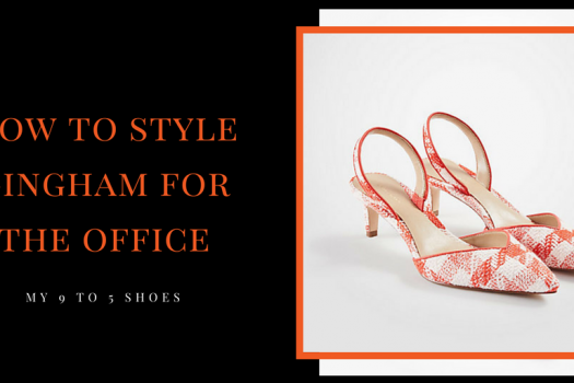How to Style Gingham for the Office