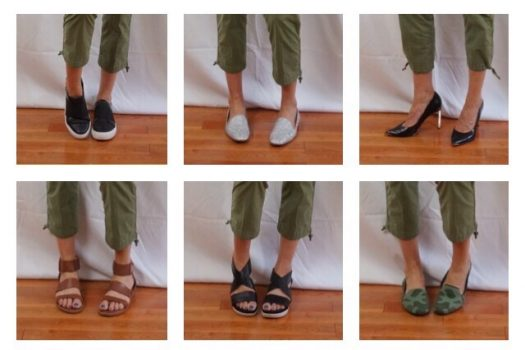 The Power of Shoes 💥 One Outfit, 7 Looks, 10 Shoes