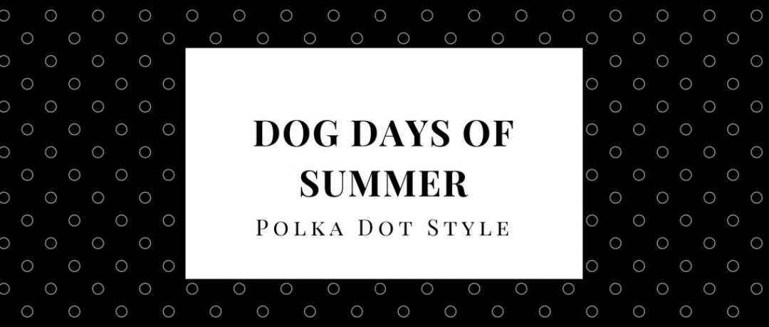Dog Days of Summer: Polka Dot Style