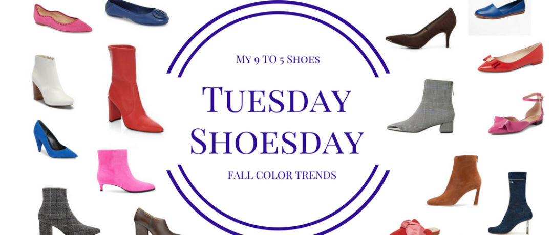 Fall Footwear Trends:  The Colors to be Seen Wearing