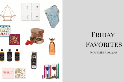Friday Favorites for November 16th, 2018
