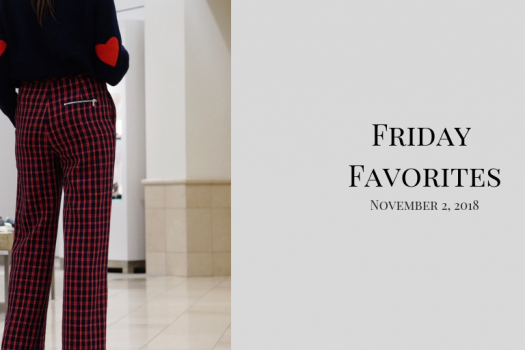 Friday Favorites for November 2nd, 2018