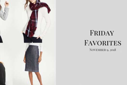 Friday Favorites for November 9th, 2018