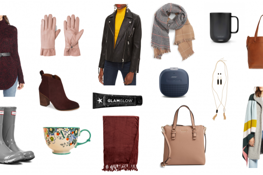Gifts for Her:  A 2018 Holiday Gift Guide