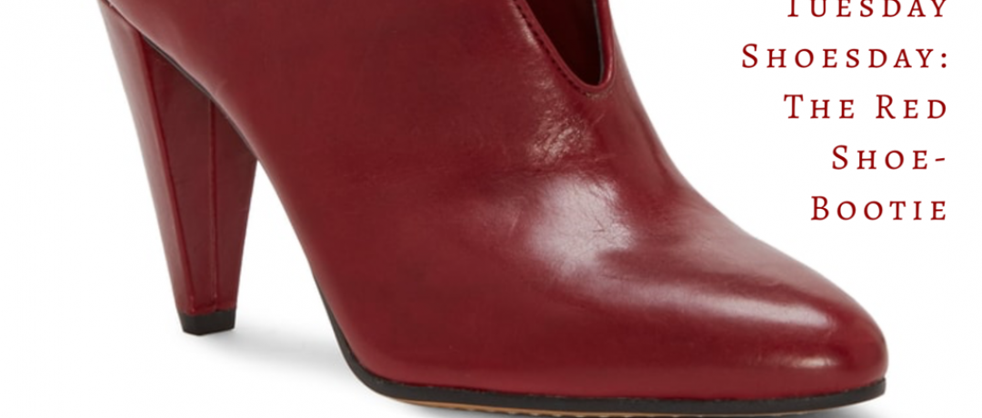 Tuesday Shoesday: The Red Shoe-Boot