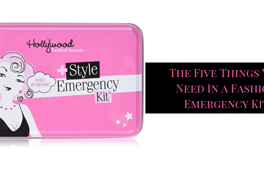 What you really need in a Fashion Emergency Kit