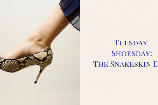 Tuesday Shoesday:  The Snakeskin Pump Edit