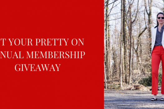 Get Your Pretty On Annual Membership Giveaway (ends Friday)