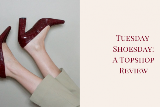 Topshop Shoes: A Tuesday Shoesday Review Post