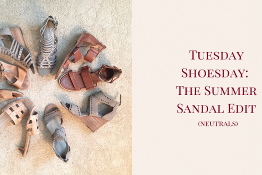 Tuesday Shoesday:  The Summer Sandal Edit