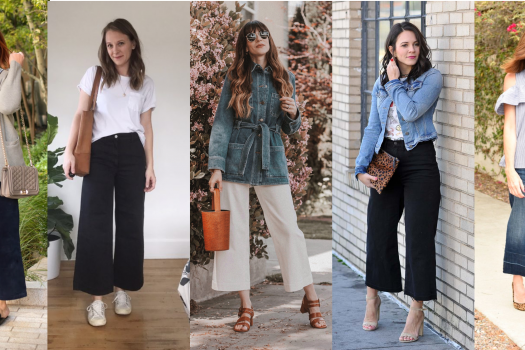 What Shoes Should You Pair with Wide Leg Crop Pants?