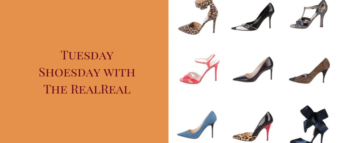 Tuesday Shoesday with The RealReal