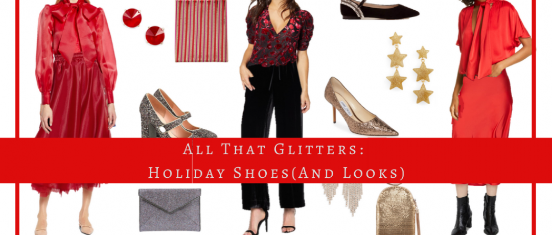 All That Glitters: Holiday Shoes