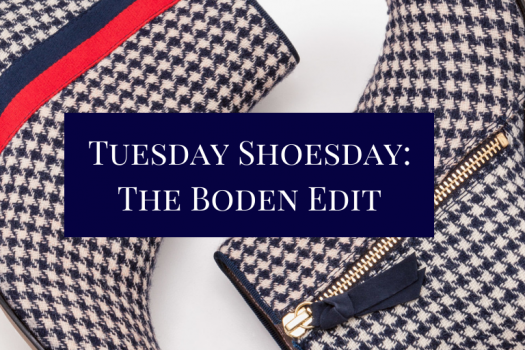 Navy Shoesday with Boden