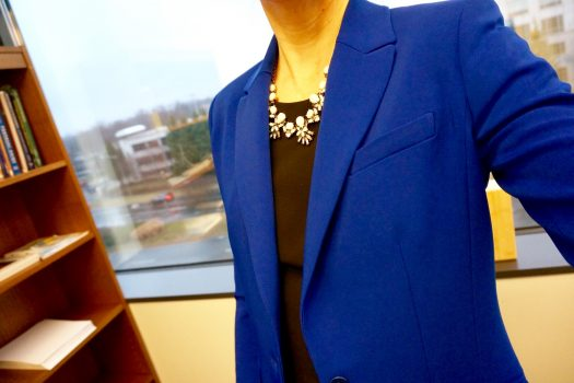 How to Wear Lapis Blue