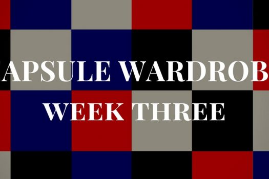 Winter Capsule Wardrobe Week 3 – My Outfits