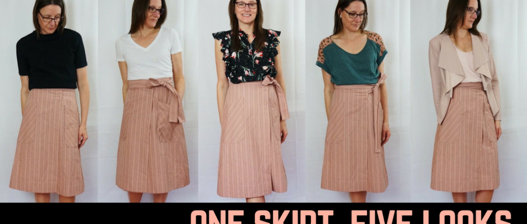 One Skirt, Five Looks