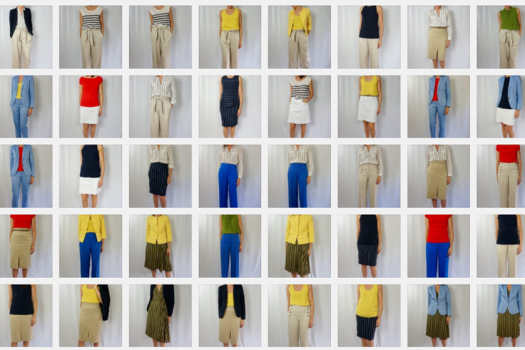 Summer Capsule Wardrobe:  The Looks