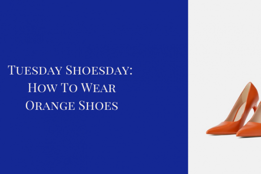 How to Wear Orange Shoes